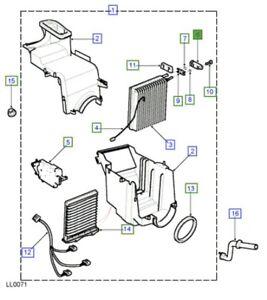 LAND ROVER GENUINE VALVE ASSY- EVAPORATOR EXPANSION-Freelander (L314)-JQD100440