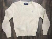 Yellow Ralph Lauren Wool Size Small Pullover Sweater Sz S