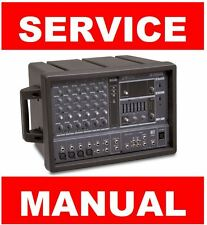 Yamaha EMX62M Mixer Service Manual and Repair Guide