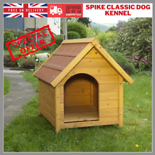 Insulated Dog Kennel House WeatherProof Easy Clean Soft Mat Roof Puppy WarmHouse