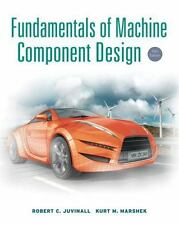 Fundamentals of Machine Component Design 5th Ed Juvinall -- Used