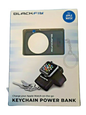 Keychain Power Bank Blackfin for Apple Watch New Charge Apple Watch on the go