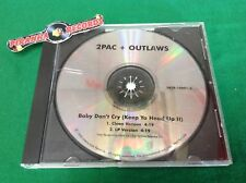 2Pac Outlaws Baby Don't Cry (Keep Ya Head Up) Promo Rap USED CD Piranha Records