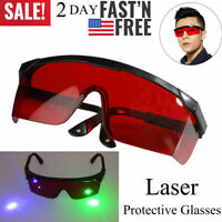 Red Laser Safety Glasses Goggles Eye Protective Eyewear Goggles For UV Lazer Pen