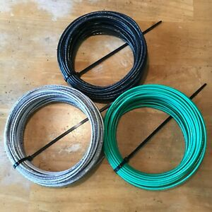 3 - 50 Ft, AWG #12 Gauge, THHN/THWN Stranded Copper Building Wire, Choose Colors