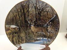 Friends of the Forest Downwind Alert Deer Plate Bruce Miller Danbury g3b