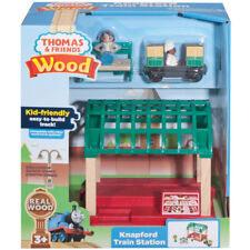 Thomas & Friends Wooden Knapford Train Station NEW