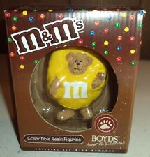 Boyds m&m's Yellow Collectible resin Figurine Style #228468