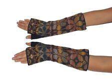 Women's 100% Pure Alpaca Wool Hand-Knit Fingerless Gloves