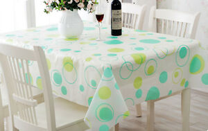AU Stock- Rectangle Square PVC Plastic Vinyl TableCloth Party Event Table cloth