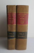 History of the Lake and Calumet Region of Indiana 2 Vols 1927 Cannon Genealogy