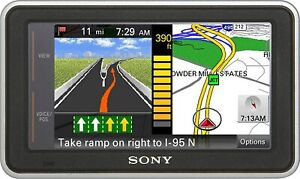 Sony NVU73T 4.3-Inch Widescreen Portable GPS Navigator - GPS ONLY (IL/RT6-150...