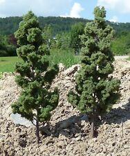 4-STÜCK PAPPELN Bäume LAUBBÄUME mit Fuß 18cm hoch zum SONDERPREIS          2P-2