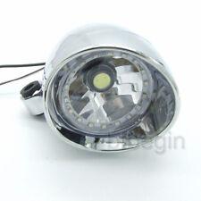 Scheinwerfer Motorrad Universal 27 LED Angel Eye Licht Für Bobber Chopper Custom