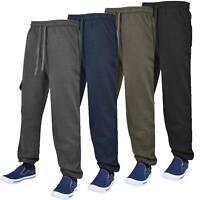 Mens Bottoms Lightweight Elasticated Trousers Combat Work Pants Jogging Bottoms