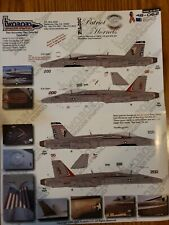 Twobobs Decals 48-062 F/A-18C Patriot Hornets
