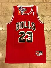 Nike Chicago Bulls Michael Jordan Throwback NBA Jersey Men's XL Retro Rare 23