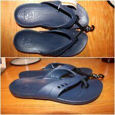 NEW CROCS KADEE WOMENS FLIP-FLOPS / SANDALS 14177-410 NAVY BLUE Size 6 / 9 / 10