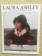 More details for vintage laura ashley catalogue autumn/winter 1985