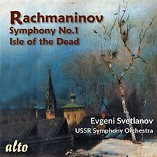 Evgeni Svetlanov - Rachmaninov: Symphony No.1 Isle Of The Dead [New CD]