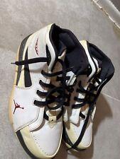 Nike Air Jordan Melo M6 White Basketball Shoes 375372-161 Men's Sz 10 Good