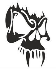 Vampire Skull Vinyl Decal Sticker for Car/Window/Wall