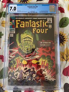 Fantastic Four #49 CGC 7.0 OW/W 1st Full Galactus