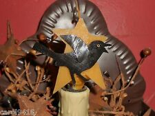 Primitive Country Crow Silicone Handcrafted 7 Watt Light Bulb