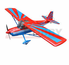 "Super Decathlon 72""/1828.8mm Nitro&Electric RC Wooden Plane 3D Aircraft Red ARF"
