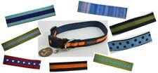 "Trish Hampton Designer Dog Collar Large 14"" to 20"" USA Handmade CHOOSE ONE"