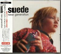 Suede ‎New Generation JAPAN Maxi Single CD 6track with OBI ESCA6132