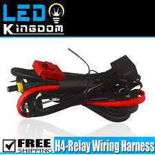 1 x H4 Relay Wire Harness HID Conversion Kit Hi/Lo Beam Controller