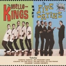 ESSENTIAL DOO WOP:THE MELLO-KINGS MEET THE FIVE SATINS CD NEUWARE