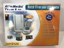 AverMedia TV Box 9 External TV Television Device — BRAND NEW!