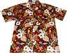 """Camisa Hawaiana """"Loros Hawaianos"""" / 100% algodón / XL - 4XL / rojo / Hawaiiana"""