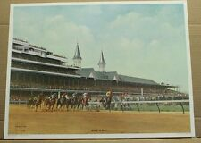 Winning the Roses CW Vittitow Horses Racing Churchill Downs Kentucky Derby