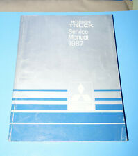 New listing 1987 Mitsubishi Truck Electrical Service Shop Repair Manual Volume 2 Only