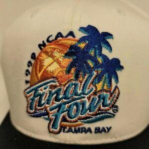 Vintage 1999 Final Four Hat Tampa Bay NCAA Basketball Baseball Cap NWT Snapback