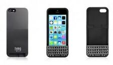 TYPO Keyboard for iPhone 5 5S SE Black QWERTY Backlight Battery Indicator