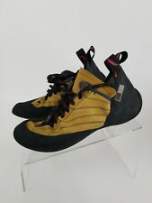Valmont Red Chilli Womens Rock Climbing Shoes Made In Italy Size 10