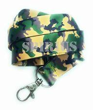 Spirius ARMY CAMOUFLAGE Lanyard neck strap for key id badge holder phone key