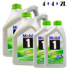 10L Mobil 1  ESP 5W-30 MOTORÖL 4L + 4L + 1L + 1L = 10 Liter Formula Nachfolger