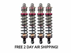 Elka Suspension 2.0 Stage 1 Front and Rear Shocks Kit Kawasaki Mule Pro DXT FXT