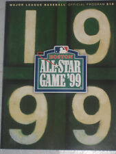 1999 ALL-STAR GAME AT FENWAY PARK BOSTON- JULY 13TH- OFFICIAL PROGRAM, PRISTINE!