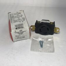 Pass & Seymour 3430 Turnlok Single Receptacle 30A 3PH Y 120/208V NEW.