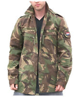 Genuine Dutch Army Issue DPM Camo Field Jacket Military Camouflage Jacket GRADE1