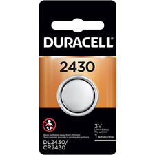 Duracell 2430 CR2430 DL2430 3V Lithium Coin Cell Battery