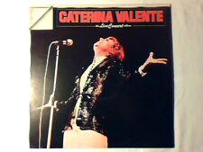 CATERINA VALENTE The live concert album lp RARISSIMO COME NUOVO RARE LIKE NEW!!!