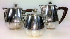 SERVICE OF COFFEE AND TEA. SILVER PLATED METAL. PHÉNIX PUNCH. FRANCE. CIRCA 1890