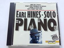 018111579025 Piano Solos by Earl Hines (1992) - FAST POST CD